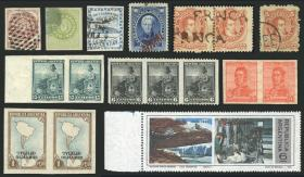 Guillermo Jalil - Philatino Auction #1919 ARGENTINA: Small selection of good lots