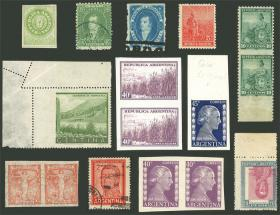Guillermo Jalil - Philatino Auction #1938  ARGENTINA: small but very attractive auction