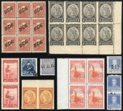 Guillermo Jalil - Philatino Auction #1939 ARGENTINA - OFFICIAL STAMPS - 116 RARE LOTS 116