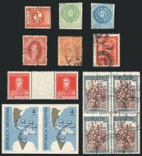Guillermo Jalil - Philatino Auction #214- ARGENTINA: