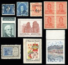 Guillermo Jalil - Philatino Auction #239- ARGENTINA: