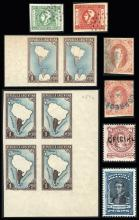Guillermo Jalil - Philatino Auction #245- ARGENTINA: