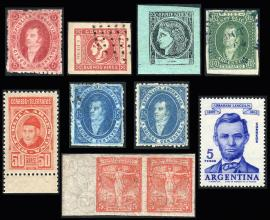 Guillermo Jalil - Philatino Auction #246-  ARGENTINA: Selection of good lots, end of year auction!