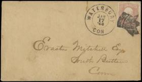 H. R. Harmer Inc Sale #3016 - United States and Confederate States of America Postal History from the 'Erivan' Collection