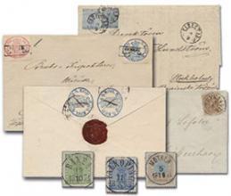 Postiljonen AB The autumn stamp Auction #218-219