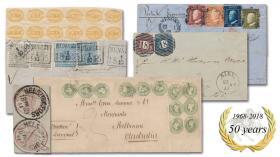 Postiljonen AB  The spring auction- 50th Anniversary Auction & The Gummesson Collection Part 4 #220/221