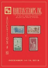 Raritan Stamps Inc. Live Bidding Auction #80