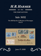 H. R. Harmer Inc Sale 3032 Bill Byerley Collection of Nicaragua