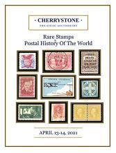 Cherrystone Auctions U.S. & Worldwide Stamps & Postal History